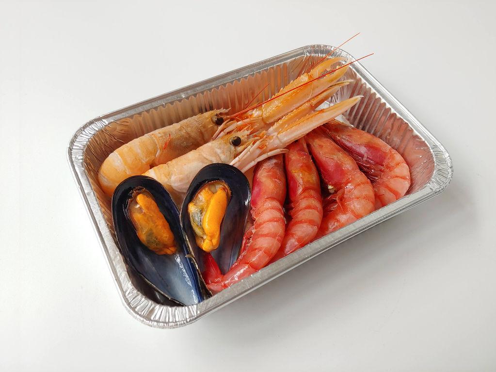 Complement de marisc per arrossos i rossejats